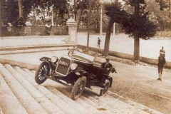 Año 1925. Pruebas de Overland (1).