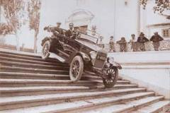 Año 1925. Pruebas de Overland (2).