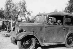 Año 1938. Austin con aletas adaptadas.