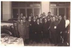 Año 1936. Inauguración de concesionario Ford.