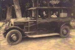 Año 1932. En el Parque de El Retiro (2).