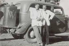 Año 1946. Ford de gasógeno.