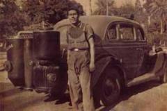 Año 1941. Hudson con gasógeno.