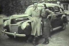 Año 1946. Coche de época.