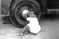 Año 1947. Tabacubos de un Ford 8 cilindros.