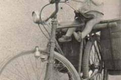 Año 1958. La bicicleta del aceitunero.