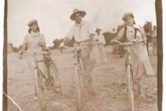 Año 1955. Bicicletas.