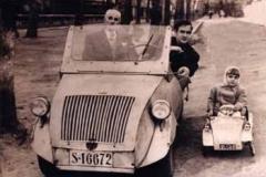 Año 1957. Biscuter y Minibiscuter.