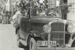 Año 1954. En la Feria de Paradas.