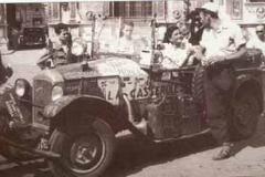 Año 1950. El francés Clemens dando la vuelta al mundo.