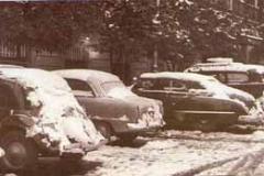 Año 1954. Nevada en Sevilla.
