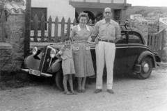Año 1954. El DKV del padre de Antonio Pérez Hick.