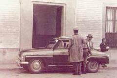 Año 1958. Taxi.