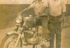 Año 1963. Bultaco en Arahal.