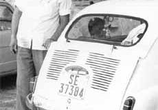 Año 1969. Detalles de un 600.