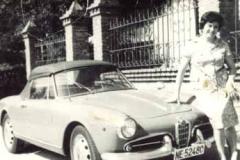 Año 1968. Alfa Romeo cabrio.