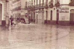 Año 1961. Riada en Sevilla.