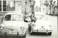 Año 1968. Dos 600 en Santiago.