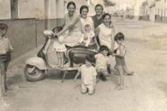 Año 1960. Amor por la Lambretta.
