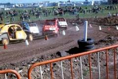 Año 1974. Carrera de 2 CV.