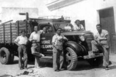 Camión de Cruzcampo.